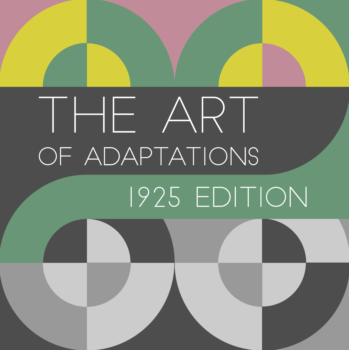 The Art of Adapatations graphic