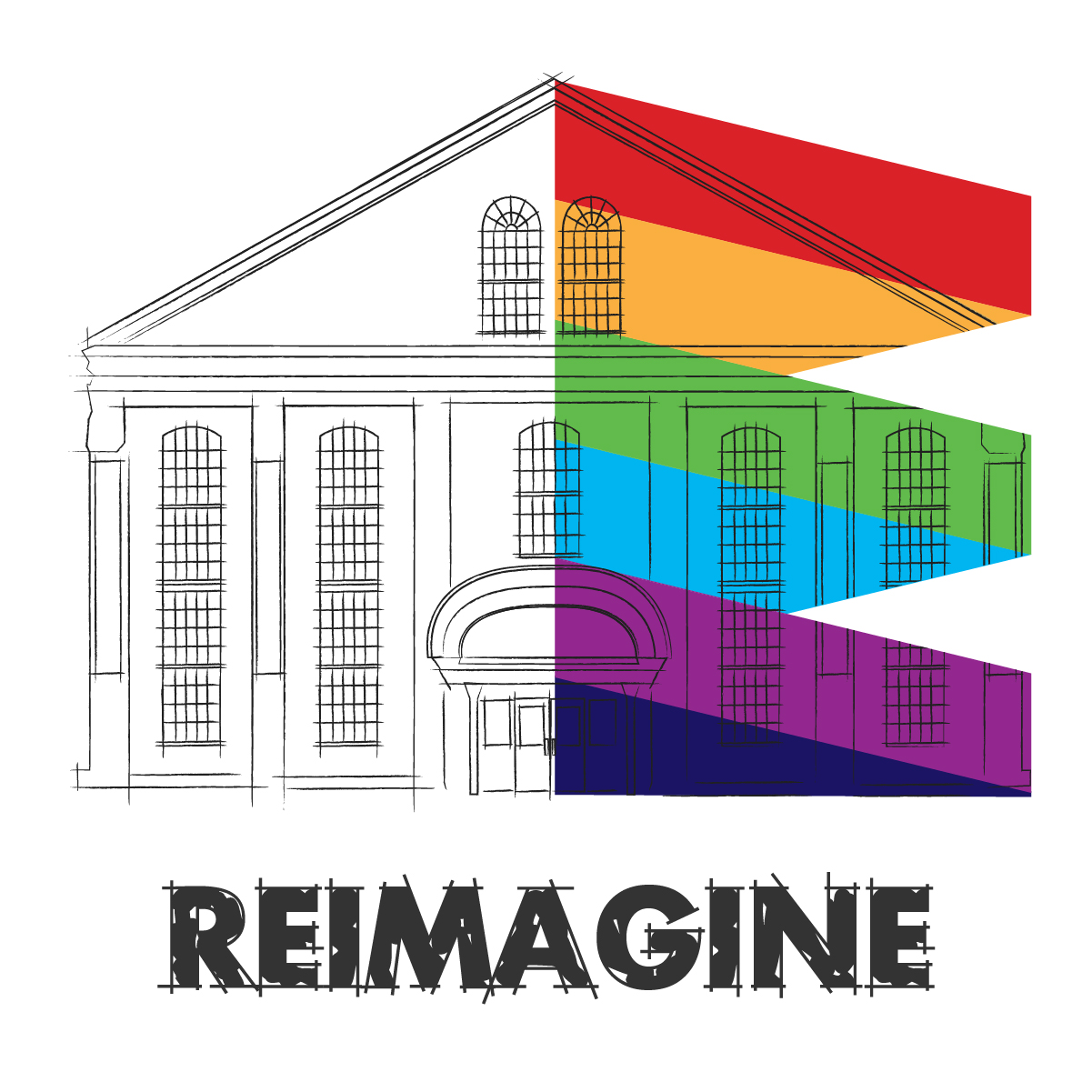 Reimagine Building Graphic